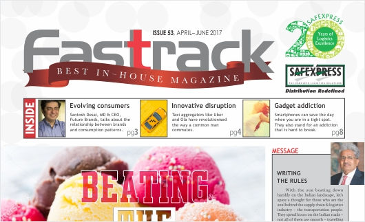 FASTTRACK, April-June 2017 Issue