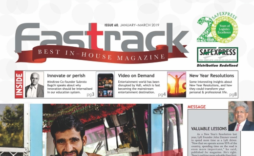 FASTTRACK, January-March 2019 Issue