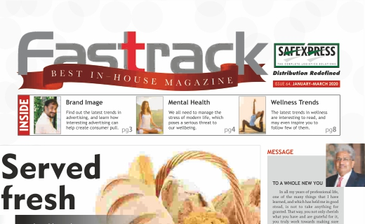 FASTTRACK, January-March 2020 Issue