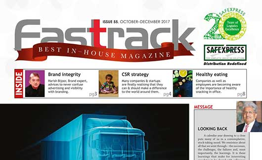 FASTRACK, October-December 2017 Issue