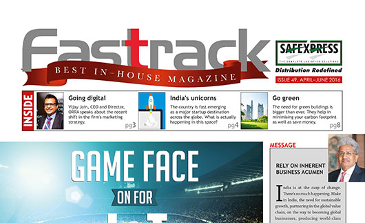 FASTTRACK, April-June 2016 Issue