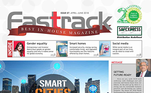 FASTTRACK, April-June 2018 Issue