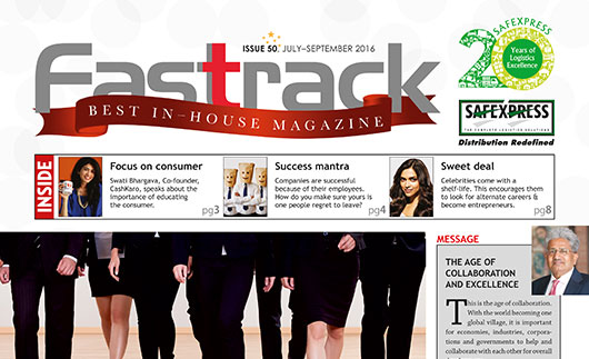 FASTRACK, July-September 2016 Issue
