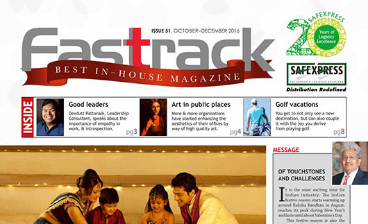 FASTRACK, October-December 2016 Issue