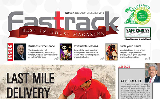 FASTTRACK, October-December 2018 Issue