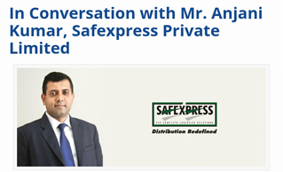 In an Exclusive Talk during India Logistics Expo 2016, Anjani Kumar, CIO, Safexpress Explains Importance of Technology
