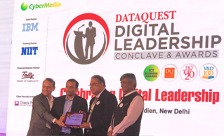 Mr Kapil Mahajan, CIO, Safexpress honoured as one of the top 50 CIO's making a difference to India