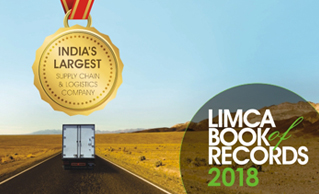 LIMCA BOOK OF RECORDS 2018 REGARDED SAFEXPESS AS 'INDIA'S LARGEST SUPPLY CHAIN AND LOGISTICS COMPANY'