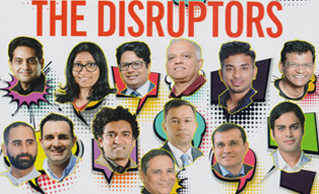 Business World Magazine honors Mr Rubal Jain as 'Top Business Disruptors in India'