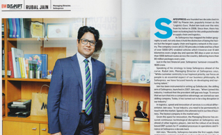 Safexpress on Becoming Fleet Leader in Indian Logistics- Business World Magazine