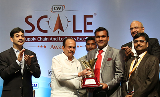 Safexpress received Overall Excellence in Logistics & Supply Chain Award in the CII Scale Awards