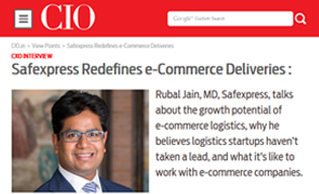 Safexpress redefines e-commerce deliveries, CIO.in