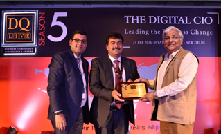 Dataquest Business Technology Award to Safexpress
