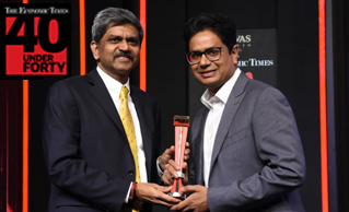 MR RUBAL JAIN BESTOWED WITH 'ET 40 UNDER FORTY AWARD'