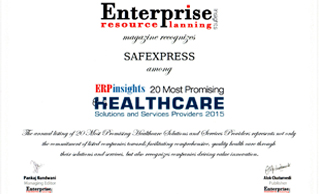 Among Top 20 Promising Healthcare Solutions and Services Providers of 2015, ERP Insights magazine