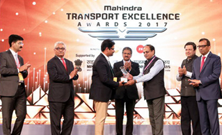Mahindra Transport Excellence Award 2017 recognised Mr Rubal Jain in the category of 'Young Entrepreneurs'
