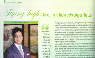 EXCLUSIVE INTERVIEW OF MR. RUBAL JAIN WITH CARGO CONNECT