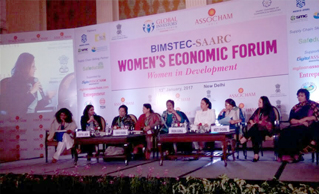 MS. DIVYA JAIN HONOURED THE STAGE BIMSTEC-SAARC, ASSOCHAM WOMEN ECONOMIC FORUM