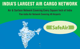 SAFEAIR EXTENDS REACH TO 40 CARGO AIRPORTS PAN-INDIA