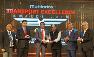 MAHINDRA RECOGNIZED SAFEXPRESS FOR OUTSTANDING SERVICE