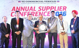 VE Commercial Vehicle Recognises Safexpress for  Contribution in Logistics Service