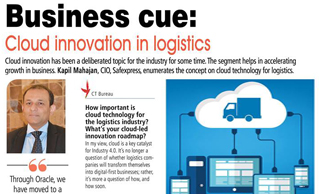 Mr Kapil Mahajan, CIO, Safexpress explains how cloud technology propels business growth