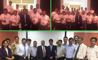 Safexpress recognizes the exemplary performers for the year 2016-17